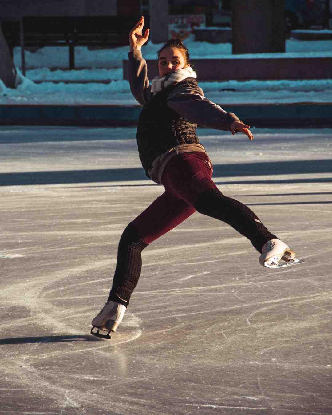 Comment faire du patin à glace pour la première fois