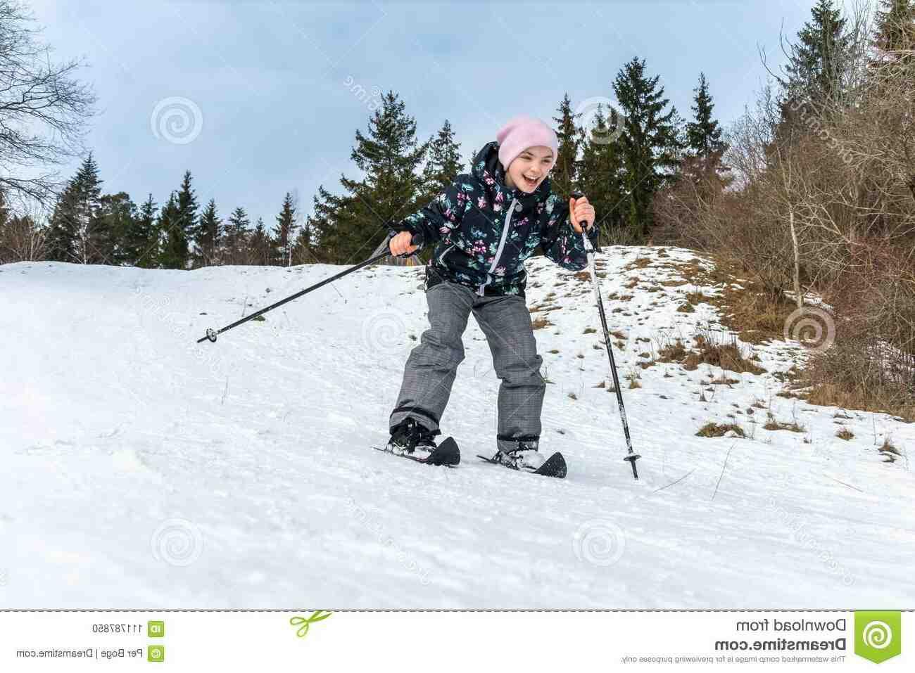 Ski de fond descente
